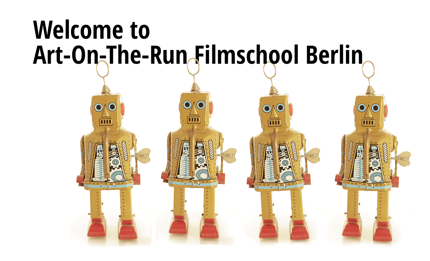 Art On The Run Film School Berlin Cover